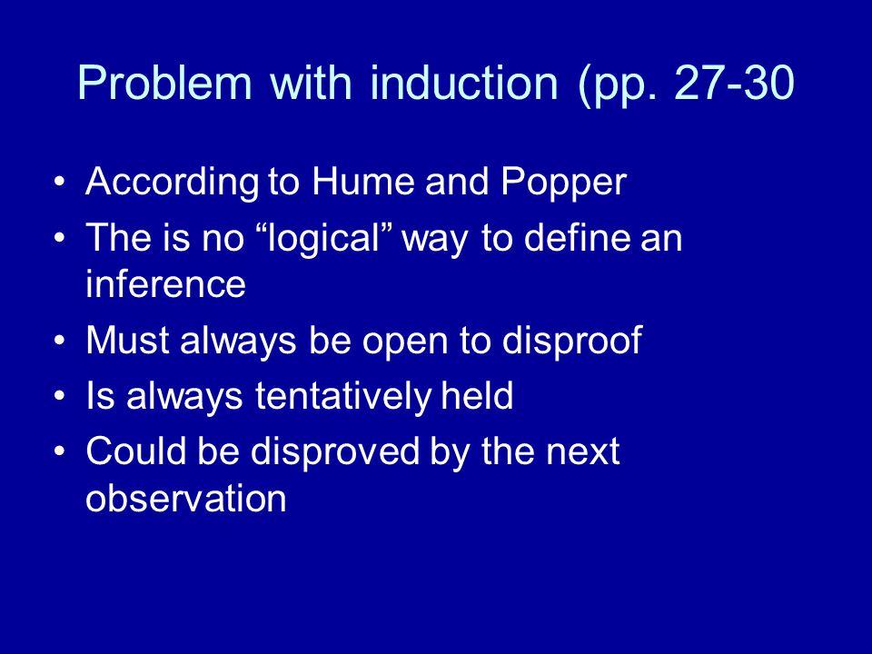 Four Aspect of Theory Testing (p.32) 1.Internal Consistency – math, logic 2.