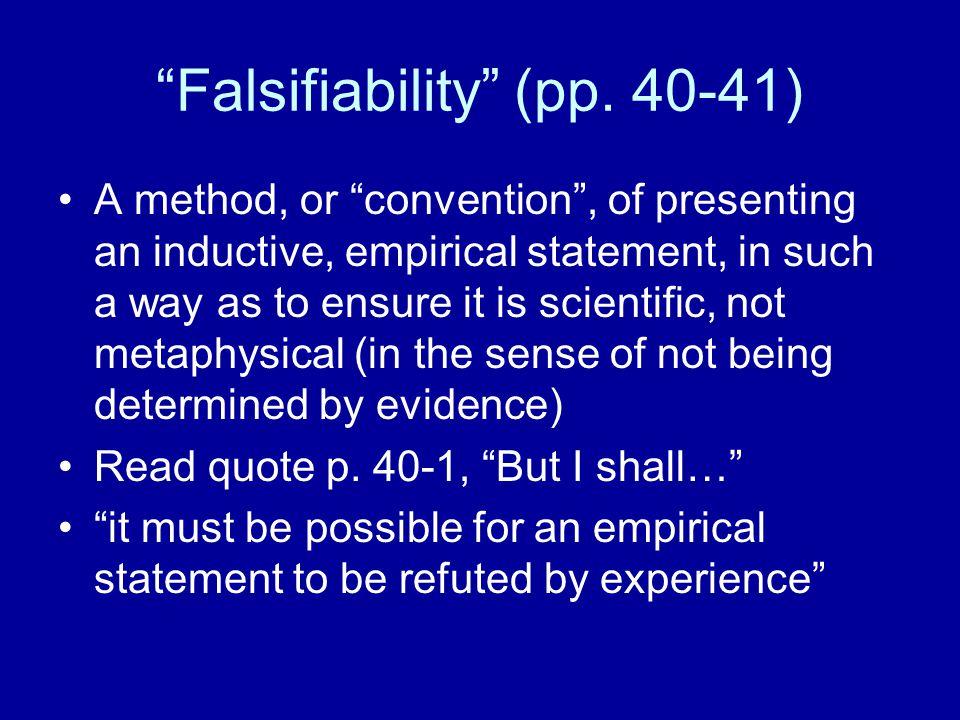 Status of Falsification (pp.