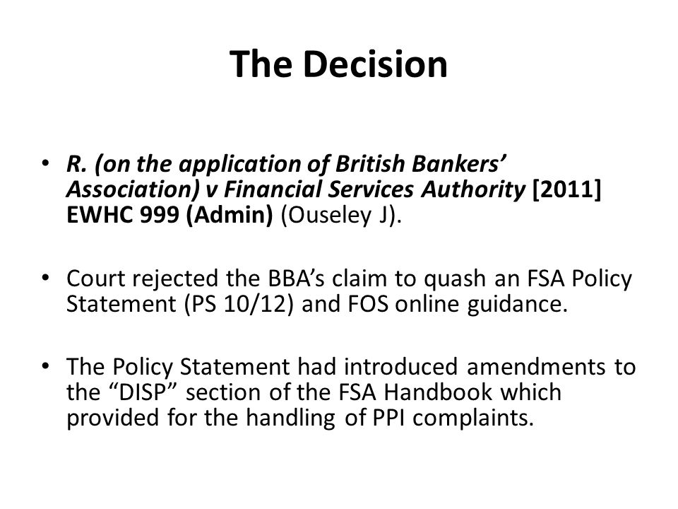 Wider significance of the rejection of the no obligations argument Three points.