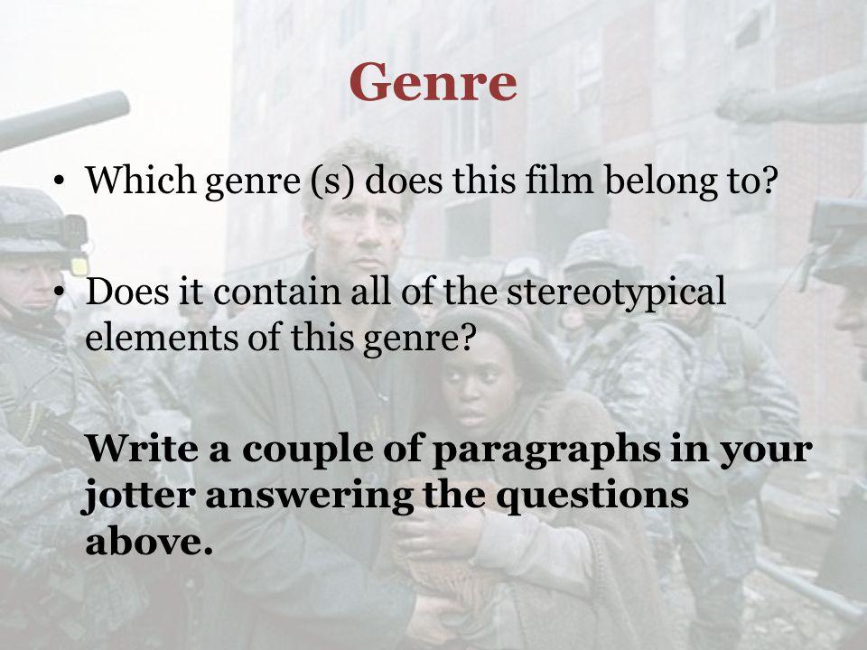 Genre Science fiction is a genre of fiction.