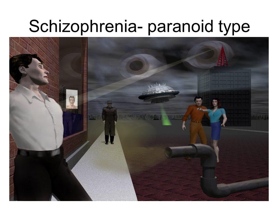 Schizophrenia- paranoid type