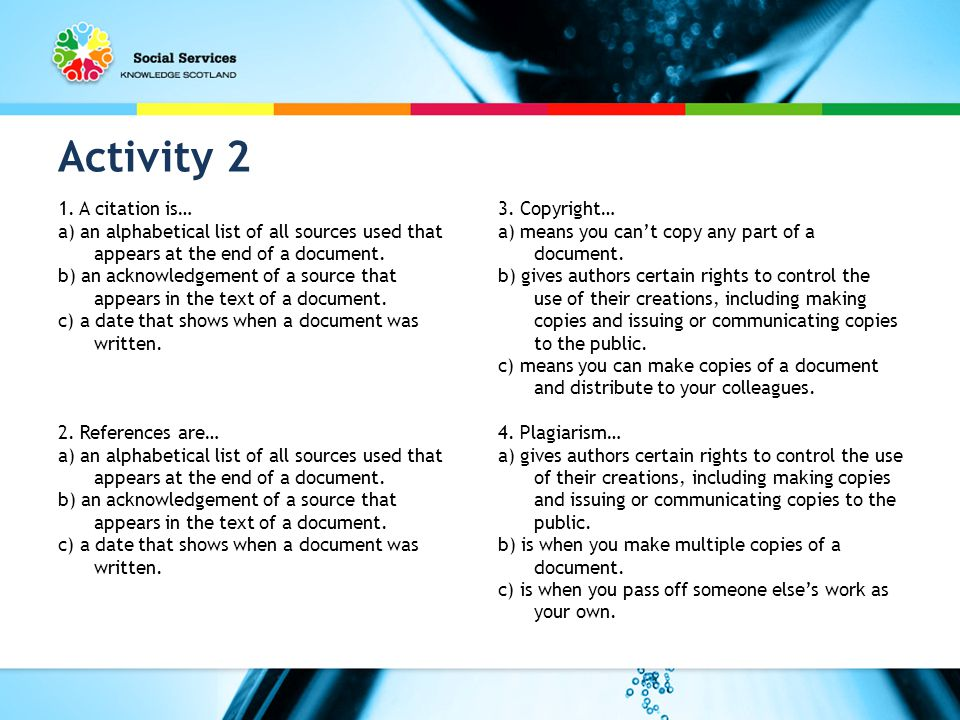 Activity 2 1.