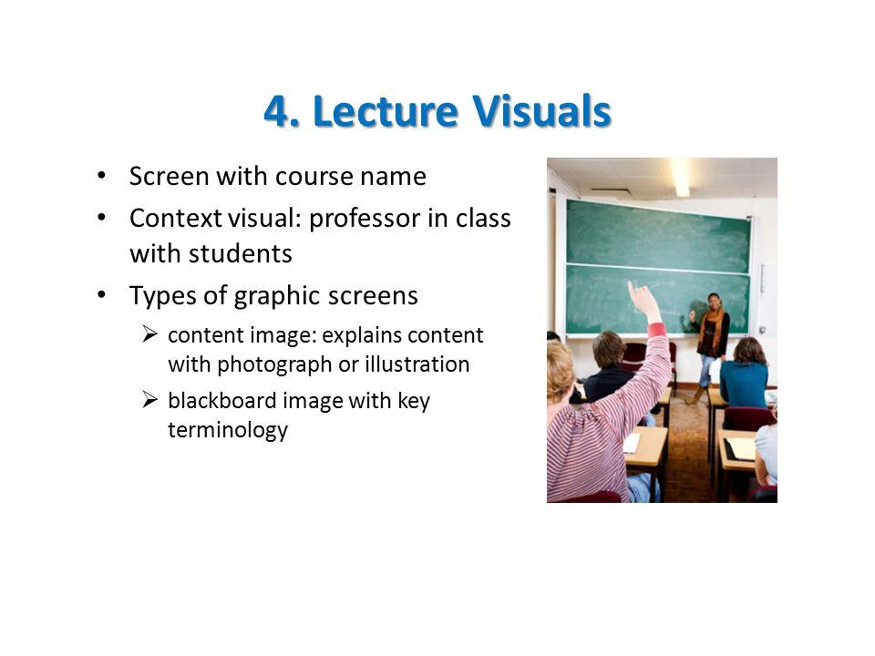 5.Conversation Visuals Context visual sets the scene.