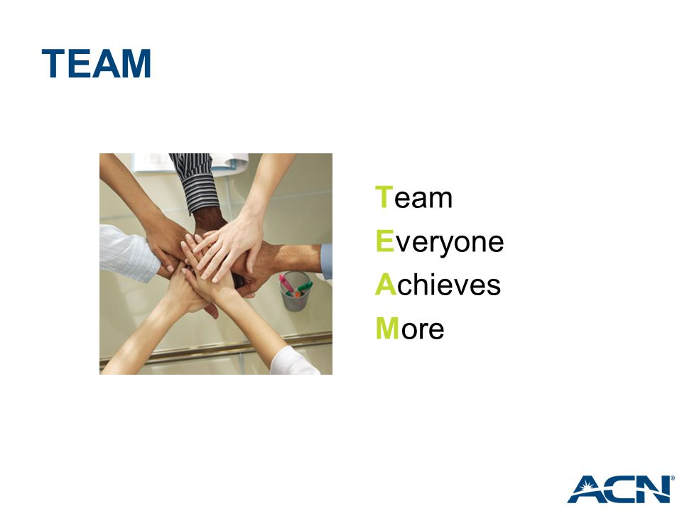 TEAM Team Everyone Achieves More