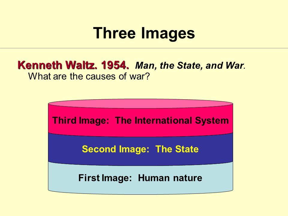 Three Images Kenneth Waltz. 1954. Kenneth Waltz.