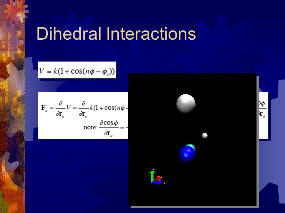 Dihedral Interactions
