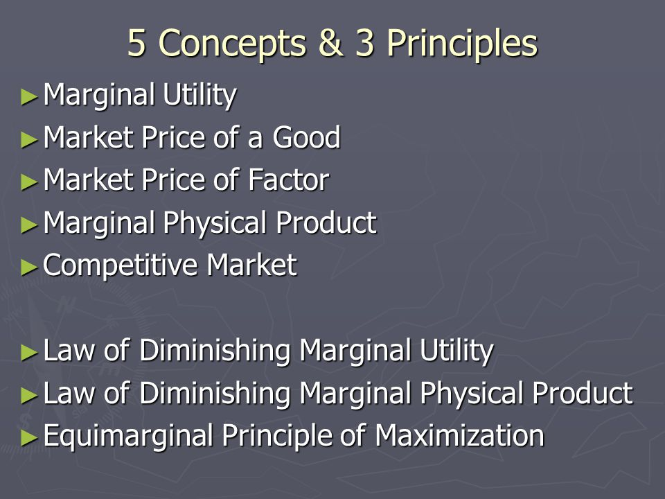 Marginal Utility = MUxn ► The marginal utility of good 'x' to consumer 'n'.