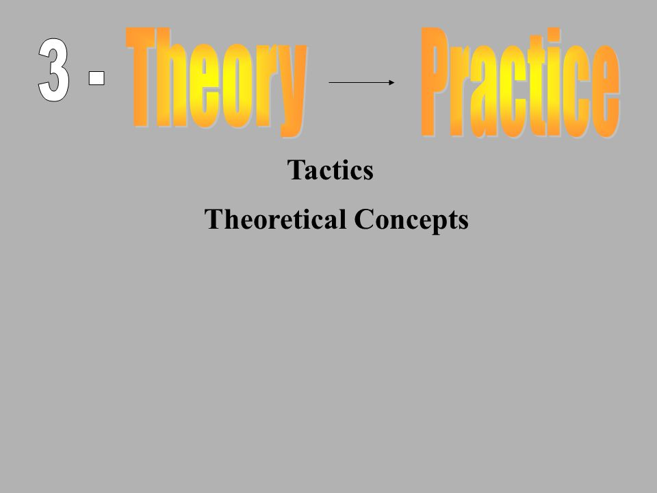 Tactics Theoretical Concepts