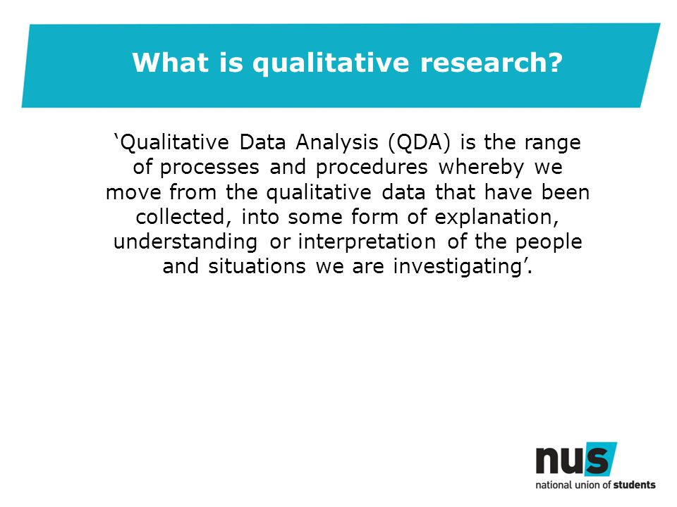 What is qualitative research.