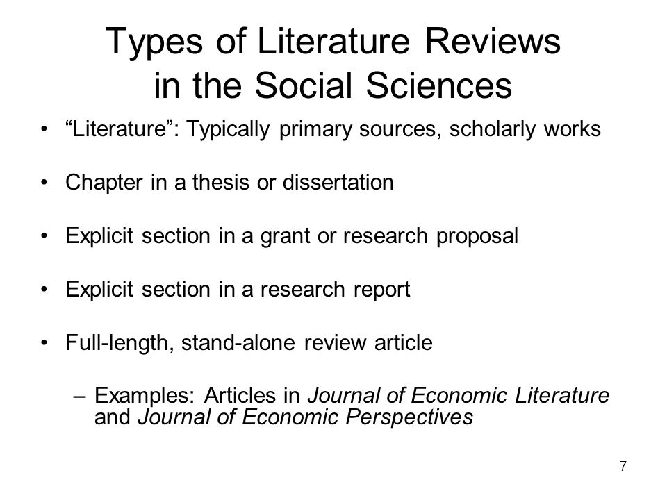 28 Conclusion A literature review is an overview of research on a given topic and answers to related research questions Literature reviews are an important part of research and should be treated as such A well-written literature review: Organizes literature Evaluates literature Identifies patterns and trends in literature Synthesizes literature