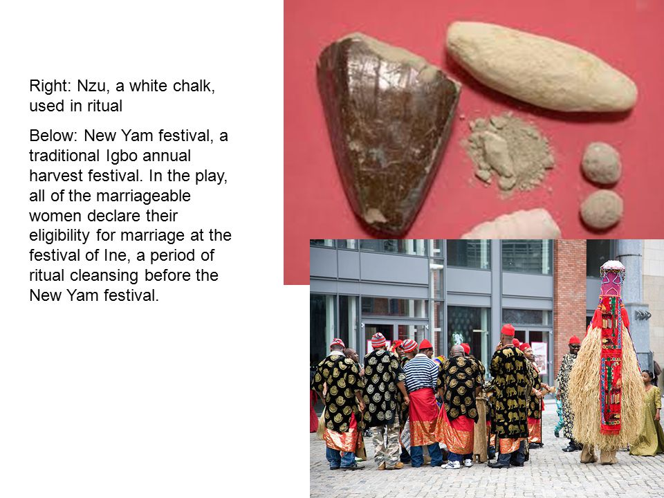 Style Ritual, dance and African proverbs are woven into the play.