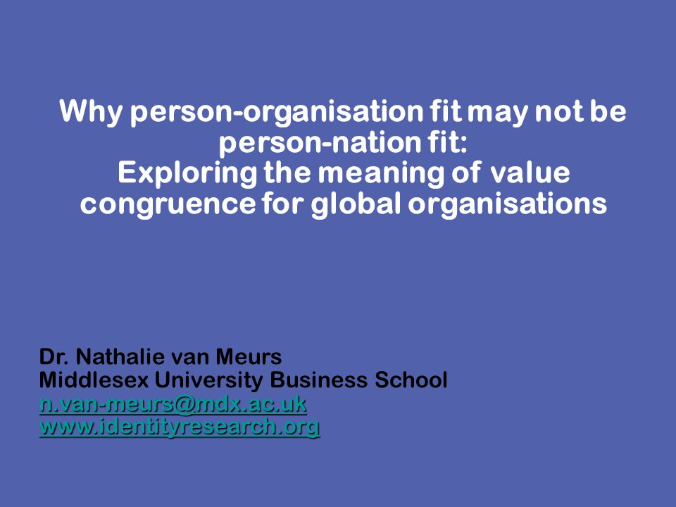What kind of people do organisations need to implement international change.