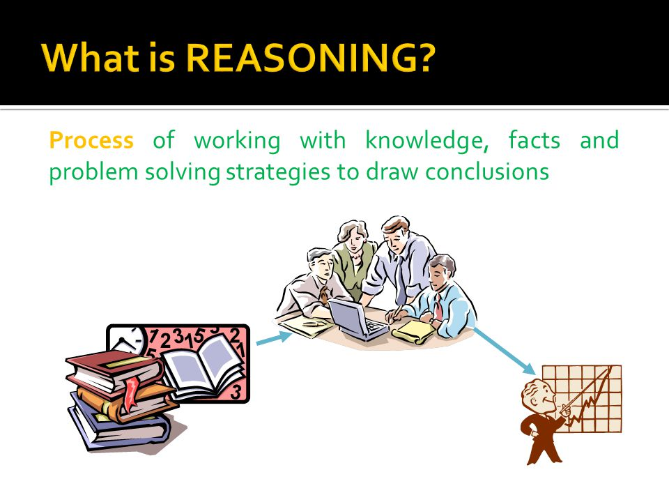 Reasoning mechanisms that are used to relate between facts and rules to derive new conclusion or facts