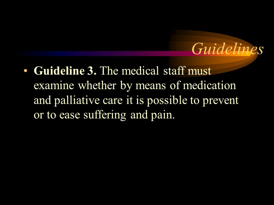 Guidelines Guideline 2.