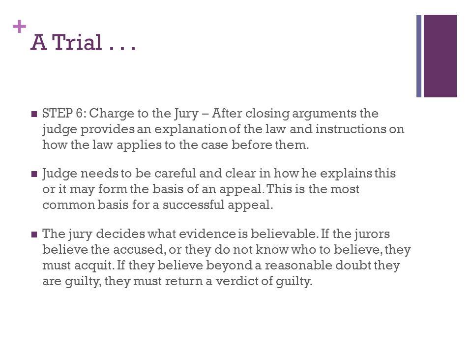 + A Trial...