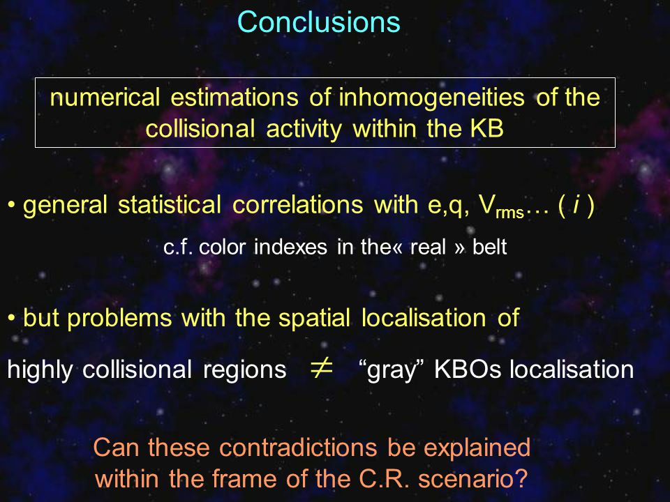 Can these contradictions be explained within the frame of the C.R. scenario? but problems with the spatial localisation of highly collisional regions