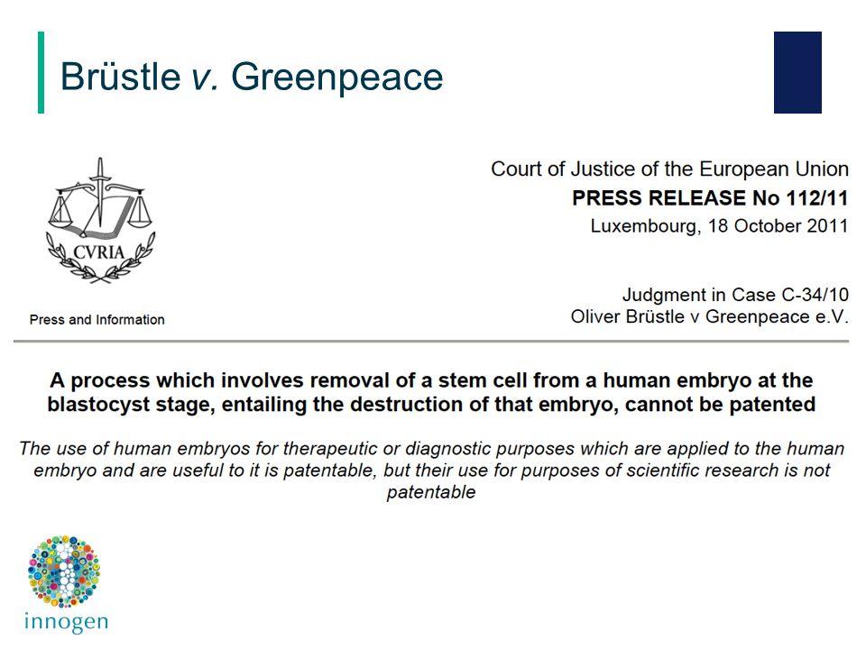 Brüstle v. Greenpeace