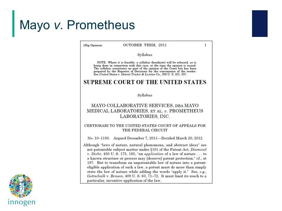 Mayo v. Prometheus