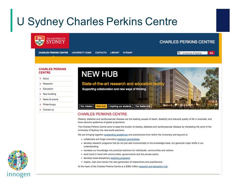 U Sydney Charles Perkins Centre