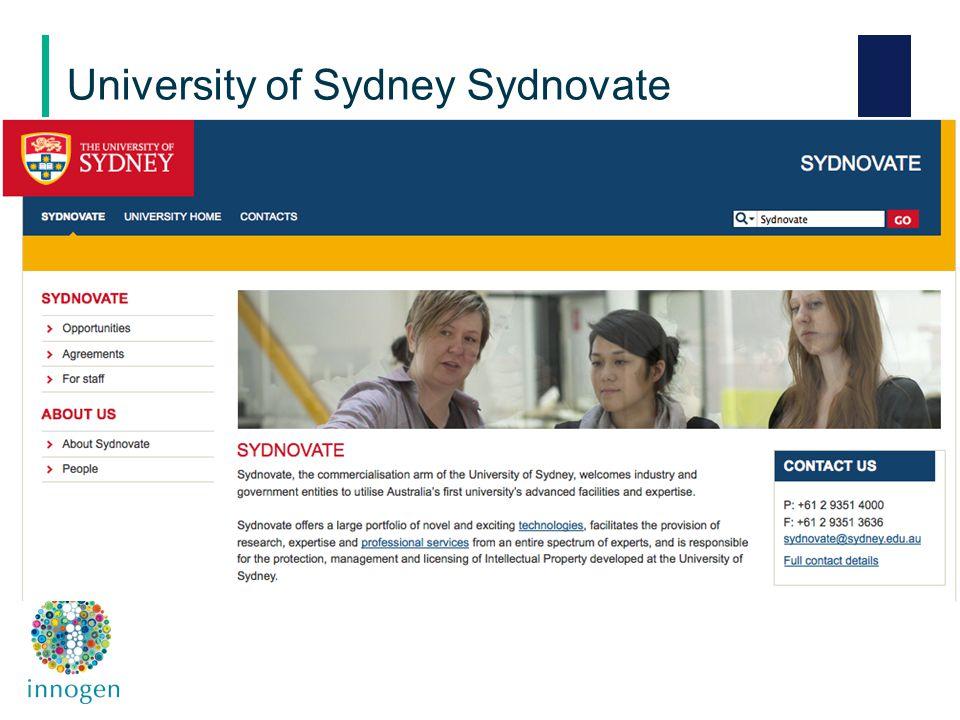 University of Sydney Sydnovate