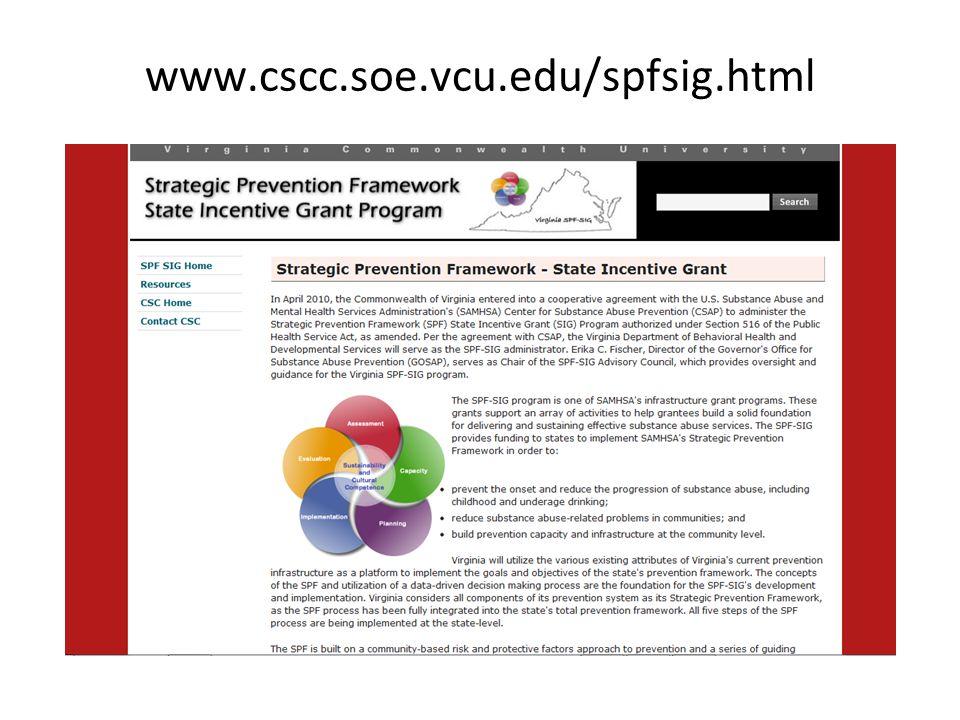 www.cscc.soe.vcu.edu/spfsig.html