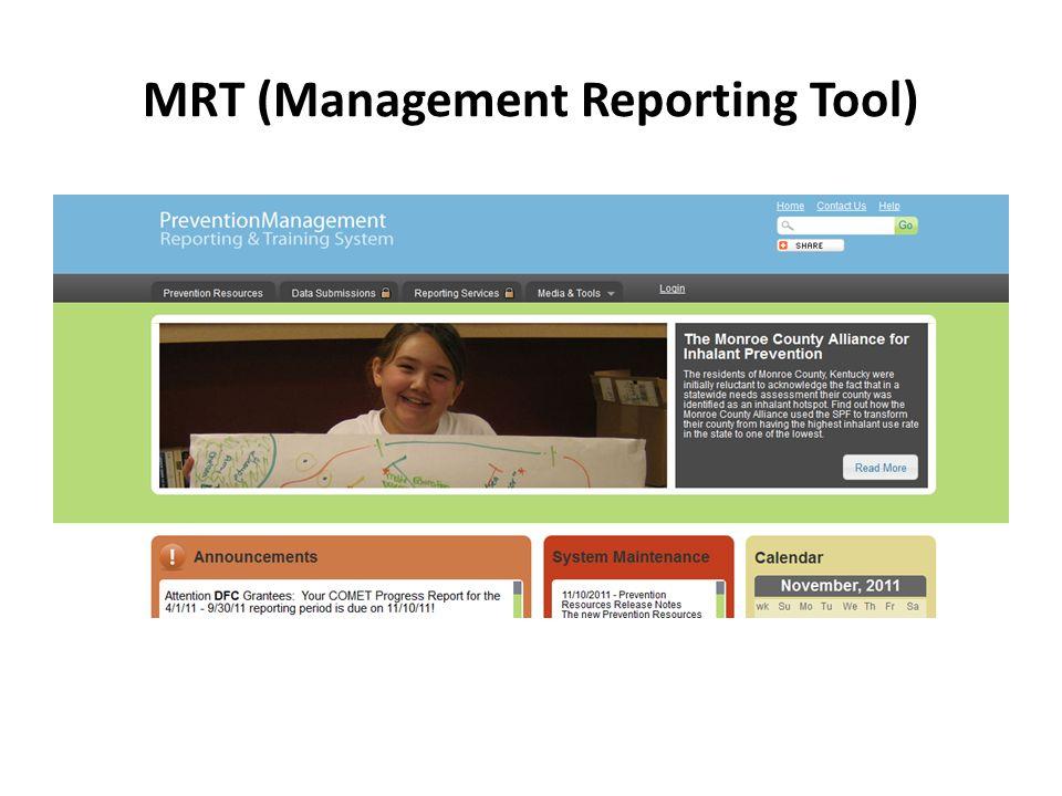 MRT (Management Reporting Tool)