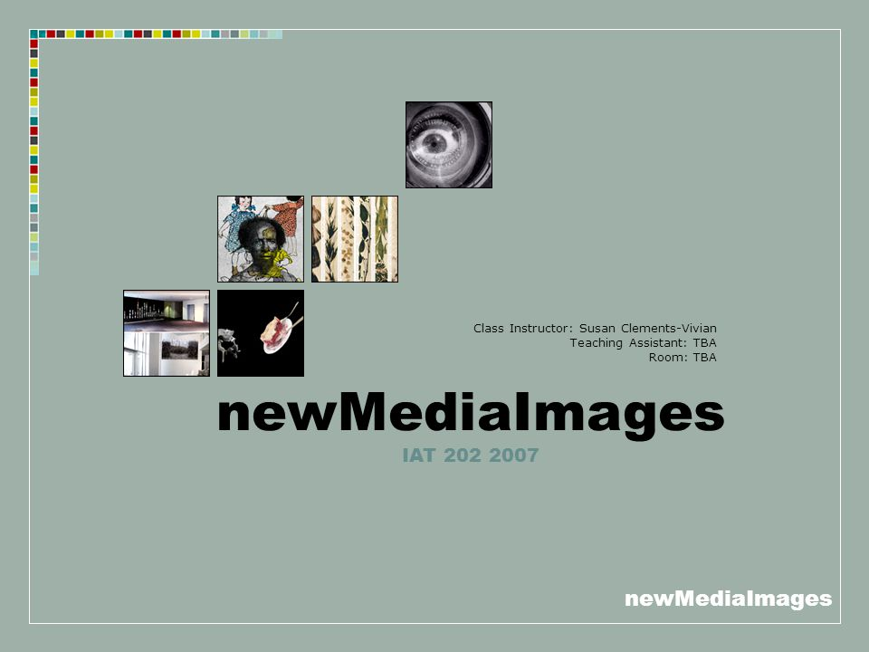newMediaImages Audio-Visual Analysis Used to understand the ways in which a film or video sequence works in its use of sound combined with its use of images.
