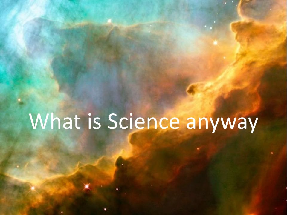 Science is organized knowledge What does that really mean.