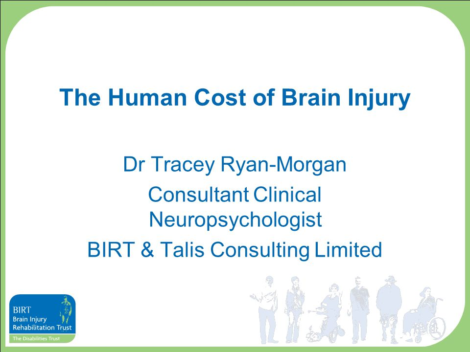 Impact on Mood Typically, studies show that about a third of TBI survivors experience emotional problems between 6 months and a year post injury.