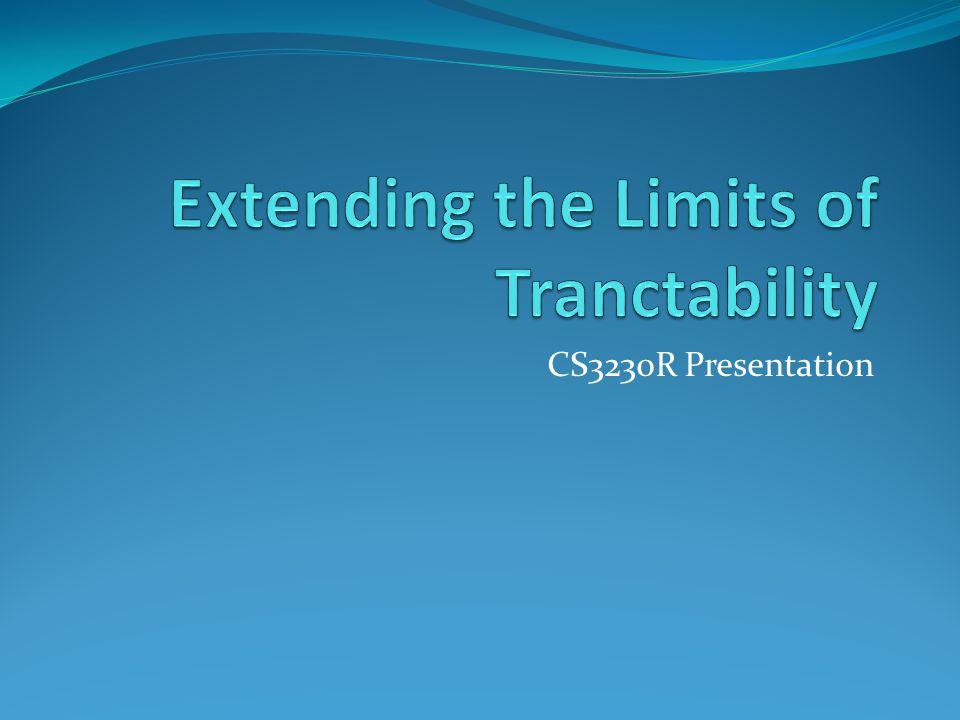 CS3230R Presentation