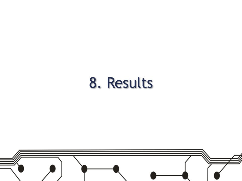 8. Results