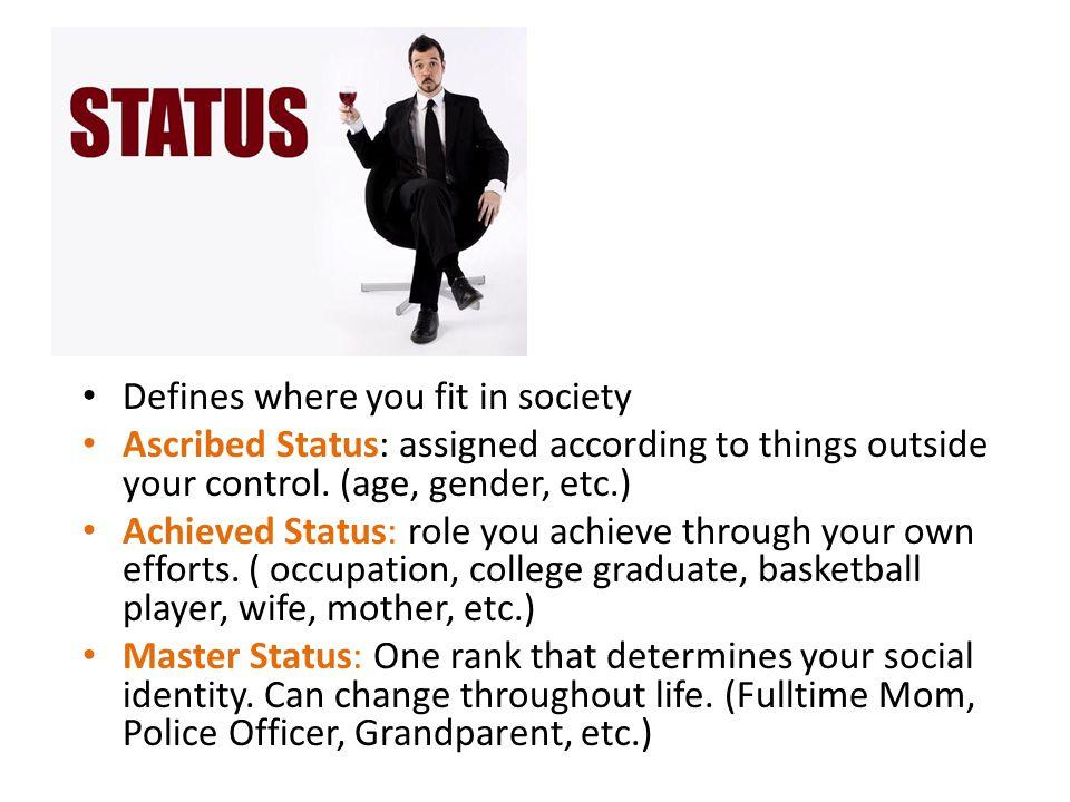 Assigned status