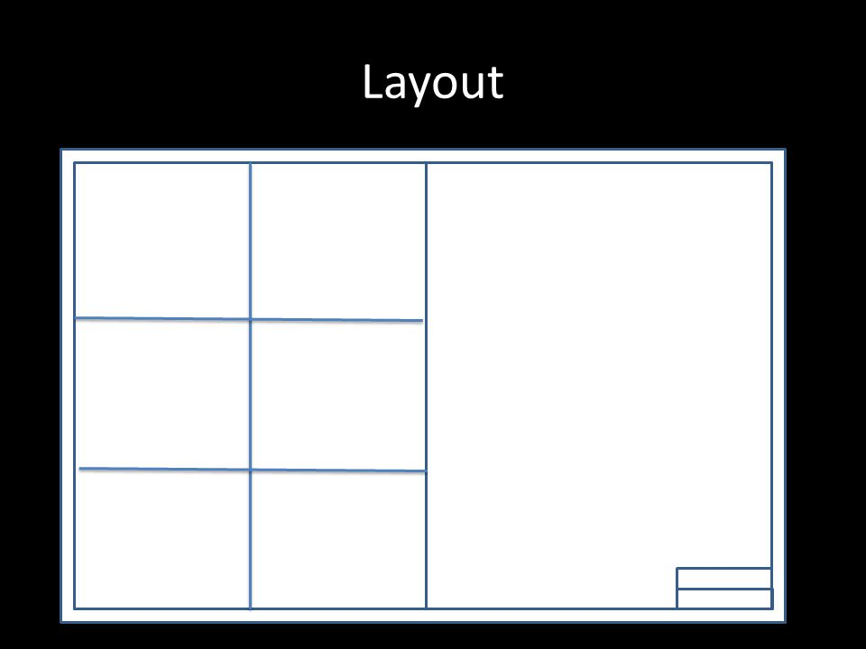 Layout Brief and Survey NAME