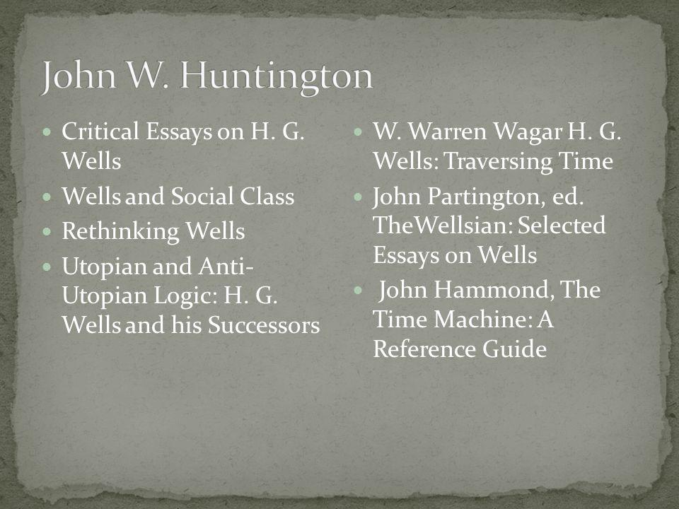 Critical Essays on H.G.