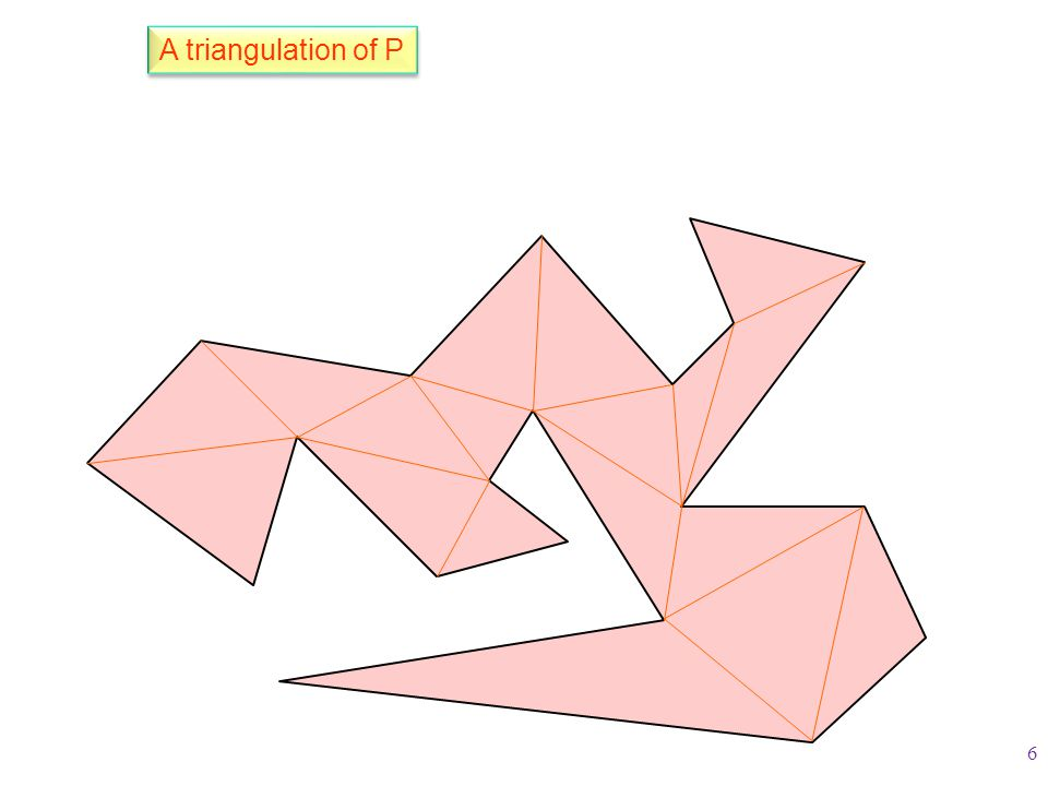 A triangulation of P 6