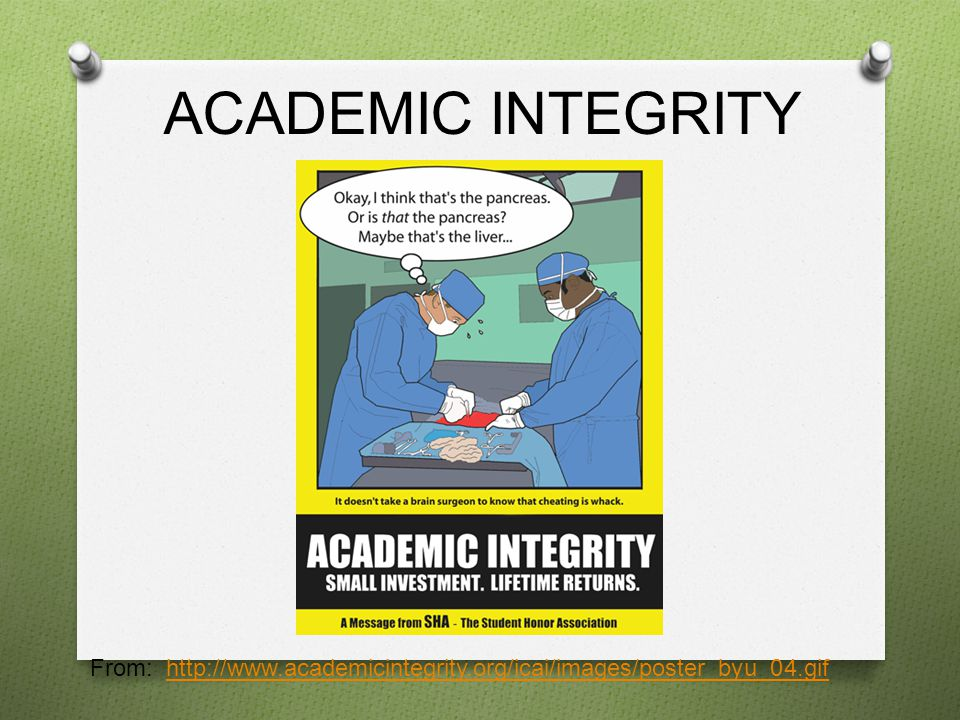 ACADEMIC INTEGRITY From: http://www.academicintegrity.org/icai/images/poster_byu_04.gifhttp://www.academicintegrity.org/icai/images/poster_byu_04.gif