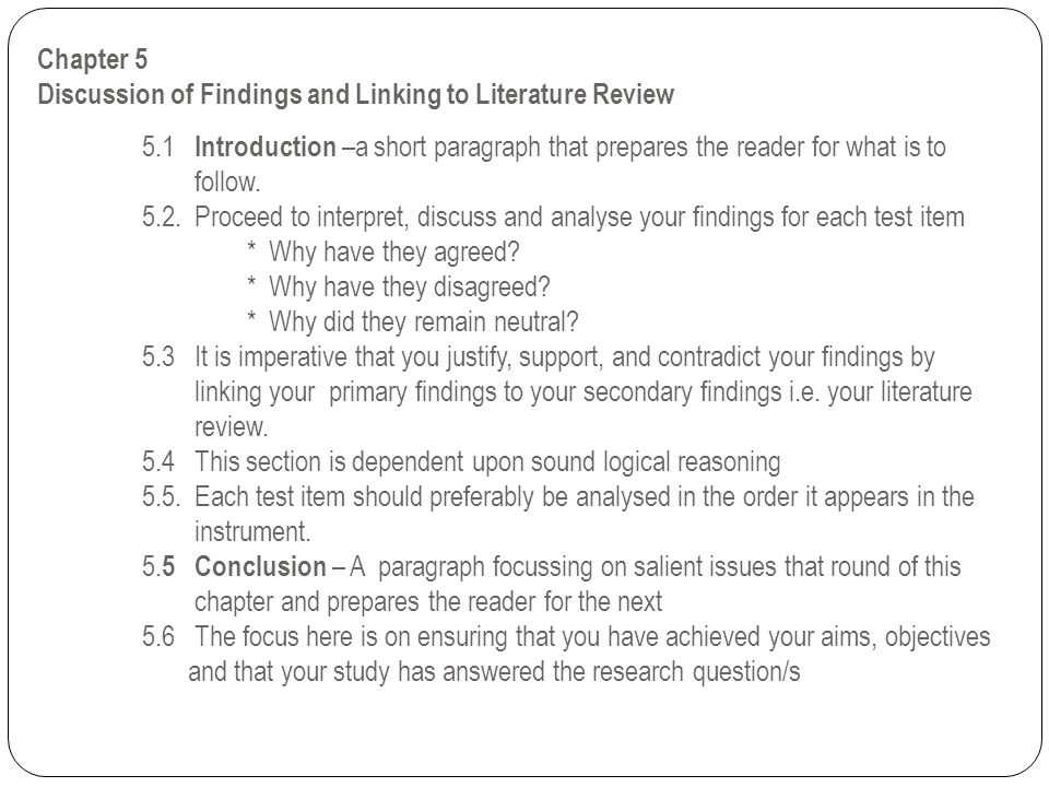 Outline of Literature Review Chapter - Indiana University