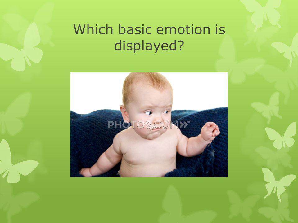 Which basic emotion is displayed