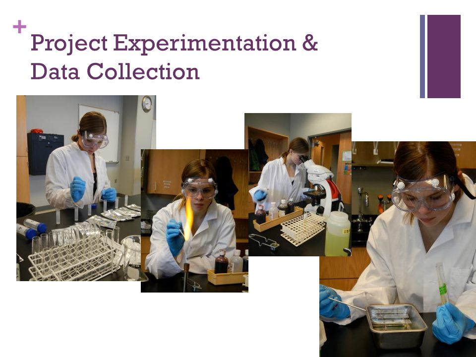 + Project Experimentation & Data Collection