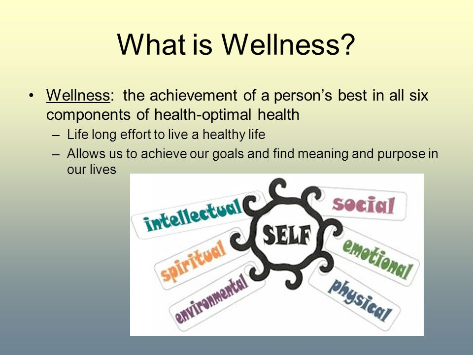 What is Wellness.