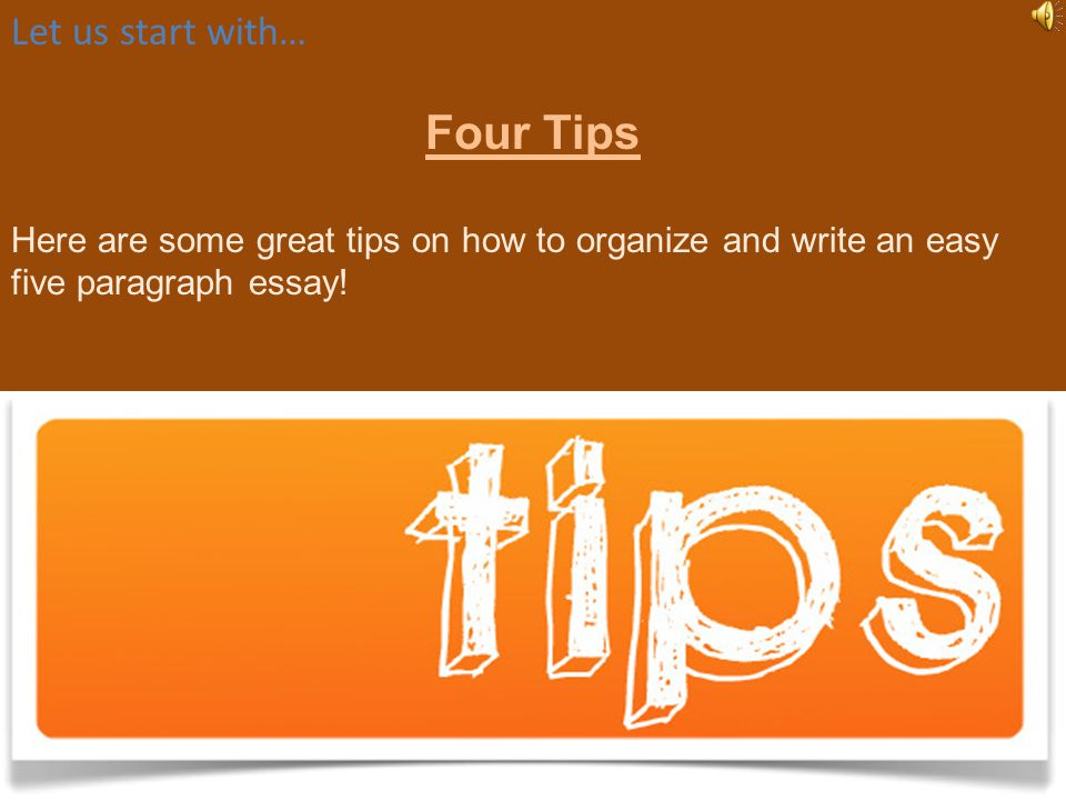 How to Write an Awesome Five Paragraph Essay The Easy Way! By the Greatest Teacher Ever Mr. McDaniel