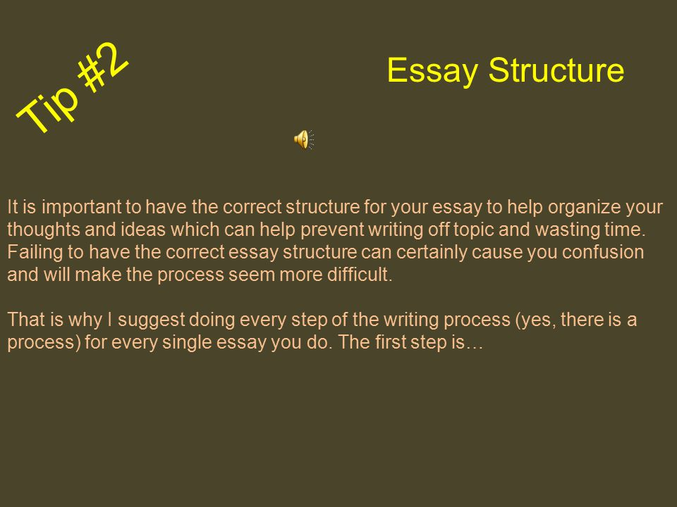 An assignment to write an essay may seem difficult at first, but if broken down into parts, it is much easier and can be fun. Don't Stress Tip #1