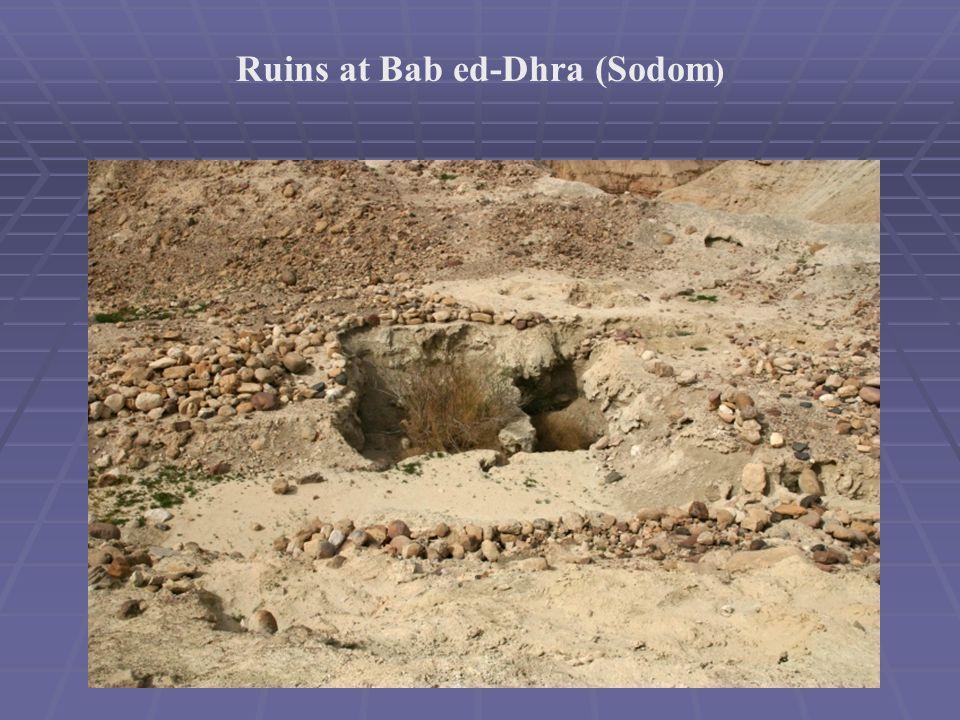 Ruins at Bab ed-Dhra (Sodom )