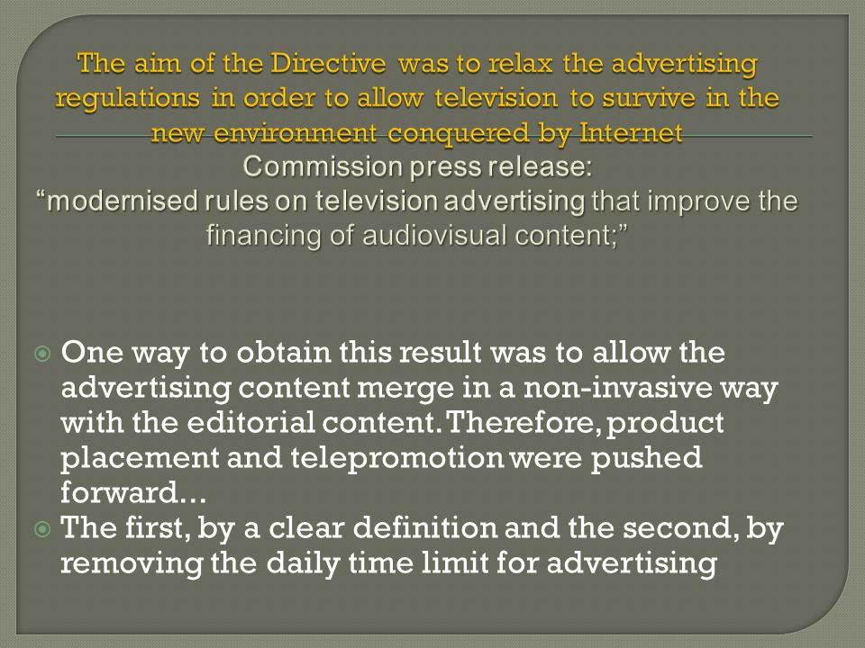  One way to obtain this result was to allow the advertising content merge in a non-invasive way with the editorial content.