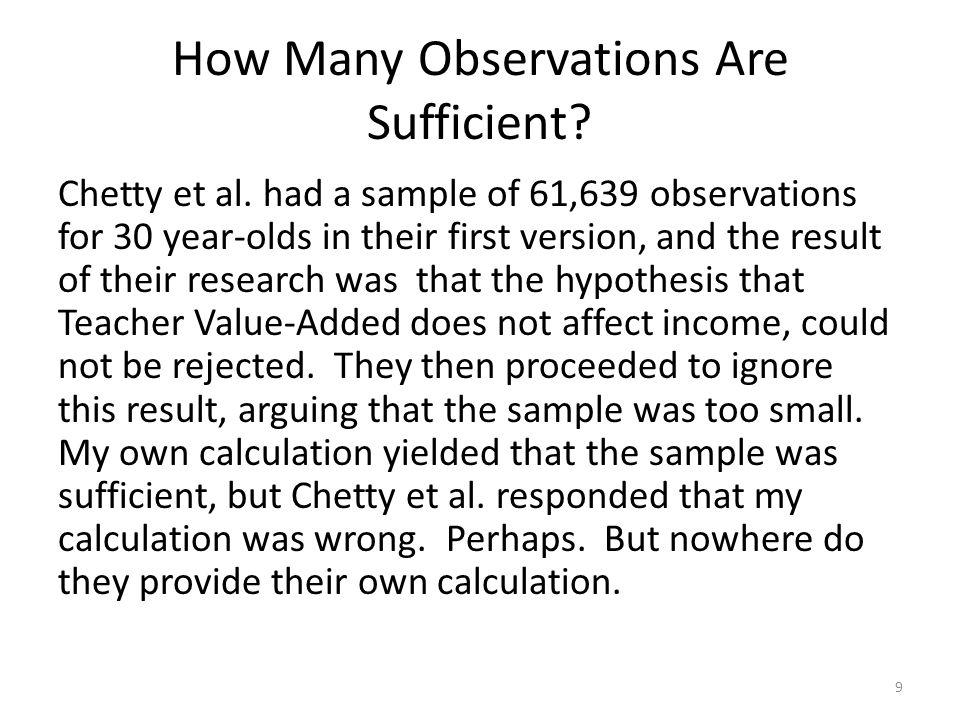 Good Fit? Bad Fit? (Chetty et al., paper 1) 40