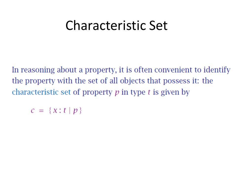 Characteristic Set