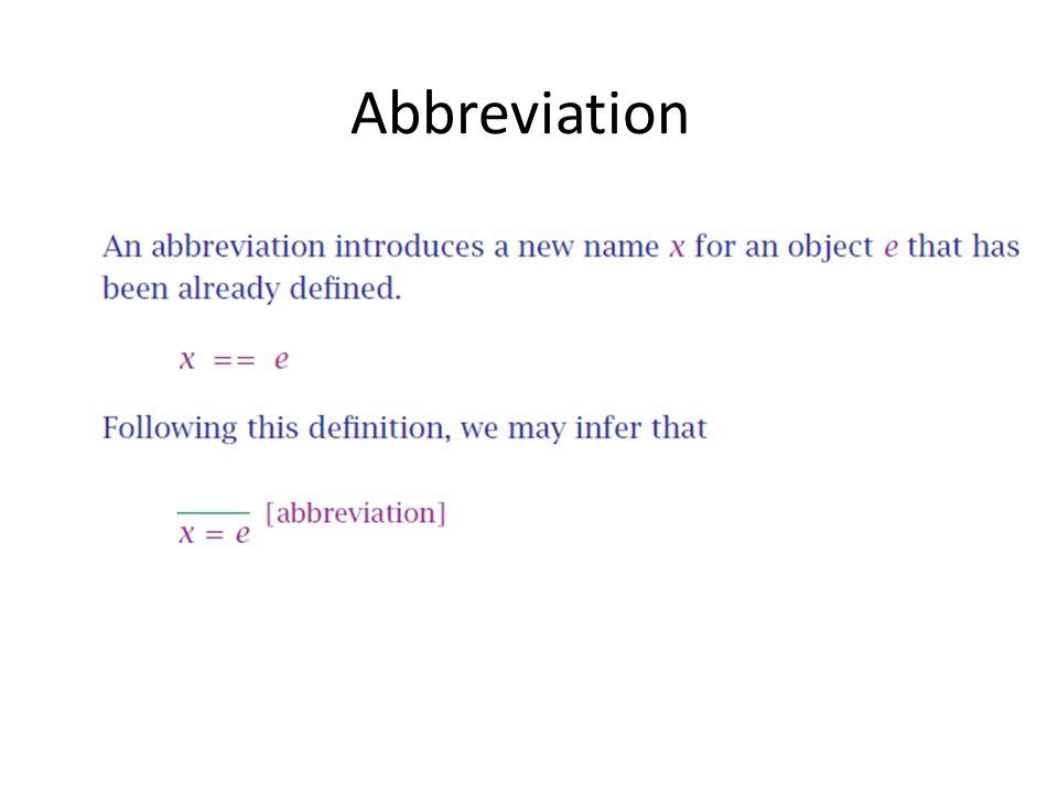 Abbreviation xx