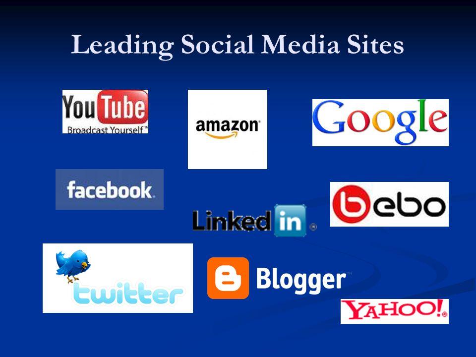 Leading Social Media Sites