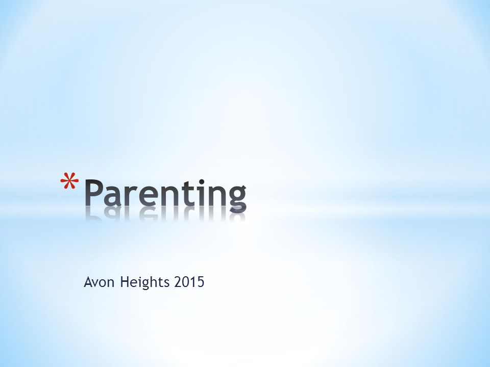 Avon Heights 2015