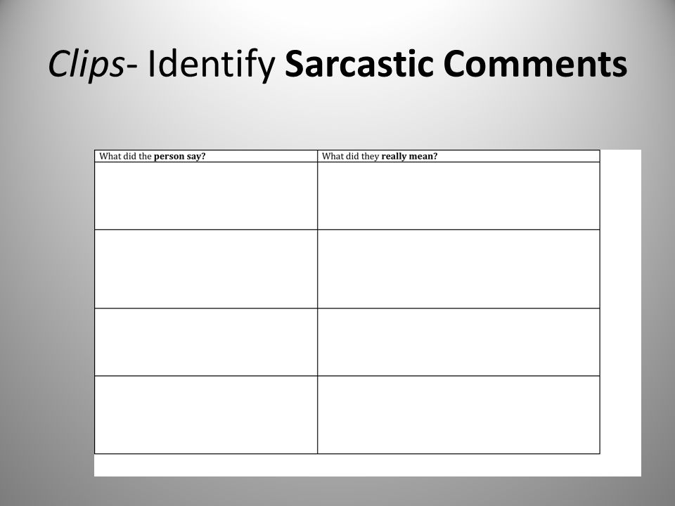 Clips- Identify Sarcastic Comments